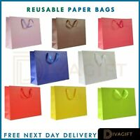 Party Bags Kraft Paper Gift Bag Twisted Handles Recyclable Loot Wedding - Large