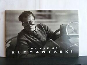 THE EYE OF (LOUIS) KLEMANTASKI - CATALOGUE OF MOTOR RACING PHOTOS Paperback 1993
