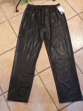 MAGNA Hose Leggings Kunstlederoptik 44 46 NEU! schwarz Stretch LAGENLOOK