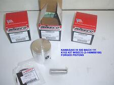 WISECO FORGED 507cc PISTON KIT K101 H1 500 KH MACH III DRAGBIKE