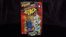 SILVER SABLE SPIDER MAN SNEAK ATTACK BUG BUSTERS TOY BIZ MOC