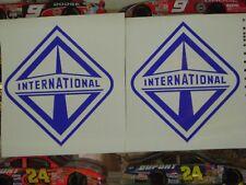 2  INTERNATIONAL DIESEL DECAL STICKER NAVISTAR IH ANY COLOR 4X4 TRUCK 4WD