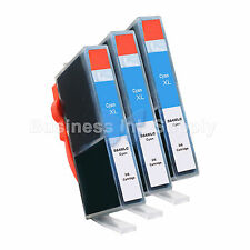 3 CYAN 564 564XL New Ink Cartridge for HP PhotoSmart 7525 B210 C310 C410 C6340