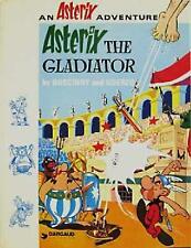 ASTERIX THE GLADIATOR ~ GOSCINNY & UDERZO ~ COMIC BOOK ~ PROFUSELY ILLUSTRATED