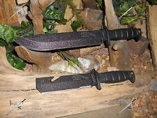 Survival knife/Bowie/Blade/Tools/Licensed Army/Heavy duty set/MOLLE/6MM