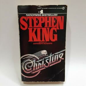 Christine by Stephen King 1983 Paperback - First Signet Edition 1st Print Horror