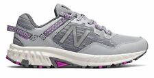 New Balance Women's 410v6 Trail Shoes Grey with Purple