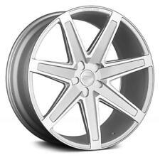 20x9 Concept One CSM03 5x114.3 36 Silver Machined Wheels Rims Set(4)
