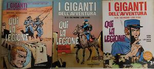 QUI LA LEGIONE serie Completa 1/3: I giganti dell'avventura EURA