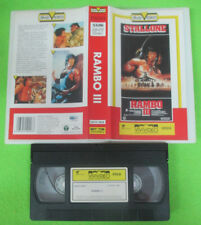 VHS film RAMBO III Silvester Stallone VIVIVIDEO POKET VIDEO 10028 (F163) no dvd