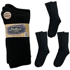 MAGGIES Sock Classic Crew, Black 10-13