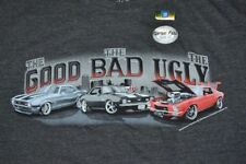 Newport Blue Officially Licensed GM T-Shirt The GOOD The BAD The UGLY Cars Tee