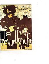 Unframed Art Poster Ad Vintage Art French la Revue Blanche woman child (179m)