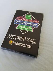 1995 Tombstone Classic Quarterback Series 12 Card Set NIB Namath Unitas Starr