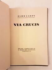 VIA CRUCIS. ALDO CARPI - Parrocchia S.Maria del Suffragio 1933