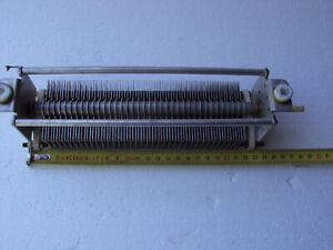 25-500pF 3000V Air Variable Capacitor HF Tuner  linear amplifier