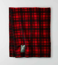 "NEW WOOLRICH X AMERICAN EAGLE OUTFITTERS AEO PLAID ARCHIVE BLANKET 50"" X 60"""