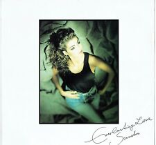 "SANDRA - 12"" - Everlasting Love (Extended version) UK 3 Track Picture . Enigma"