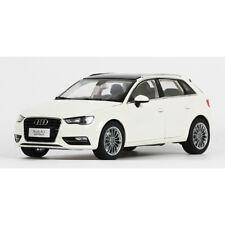 Original 1:18 Scale Audi A3 Sportback White Diecast Car Model NEW IN BOX