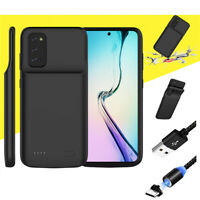 External Battery Charger Case Power Bank For Samsung Galaxy S9 S10 S20+ Ultra