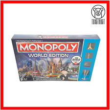 Monopoly Here and Now World Edition Board Game Family Fun Hasbro Age 8+