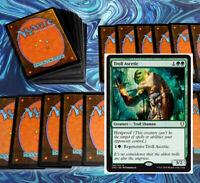 mtg GREEN HEXPROOF DECK Magic the Gathering rares 60 cards yorvo troll ascetic