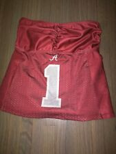 Miss fanatics University of Alabama sport strapless top large new with tag