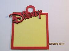 -DISNEY Title & Frame-------Mickey------Cricut Die Cuts-----Worldwide
