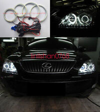 4pcs Excellent SMD Angel Eyes kit Halo Rings For LEXUS RX300 RX330 RX350 RX400h