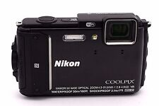 Nikon COOLPIX AW130 16.0 MP Waterproof Digital Camera  - Black