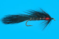 Black Matuka, 6 pcs. size 8