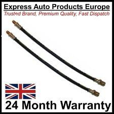 2 X Front Brake Hose for VW 113611701D Porsche 64442311 male & female 370mm