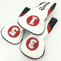 1x/3x Golf Cover Headcover for Taylormade m1 m2 m3 m4 m5 m6 r15 sldr driver wood