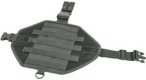 VISM Ambidextrous MOLLE Drop Leg Panel w/ Pocket hunt tactical duty gear GRAY