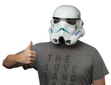 STAR WARS STORMTROOPER MOLDED DELUXE VINYL ADULT MASK OFFICIAL LUCASFILM LTD NEW