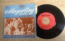 SP 45 tours thèmes BOF Mayerling Love story Marcello Minerbi Deneuve Sharif EXC