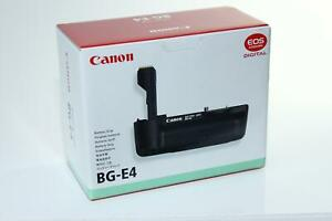 EMPTY RETAIL BOX for Canon BG-E4 Battery Grip WITH Battery Magazine BGM-E2