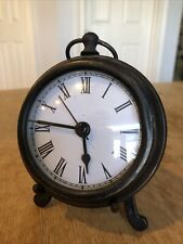 Clock - on Easel Stand - Battery - Aa - Bronze Color - Bookshelf or Bedroom