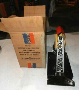 LIONEL No. 97 COAL ELEVATOR/LOADER w/ 97C CONTROLLER + OB-SERVICED AND TESTED