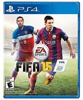 FIFA 15 (Sony PlayStation 4, 2014) Brand New Factory Sealed Game