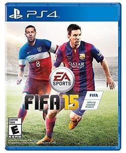 FIFA 15 (Sony PlayStation 4, 2014)