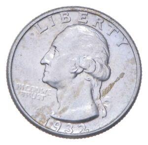 RARE Key Date - 1932-D Washington Quarter - First Year - TOUGH *338