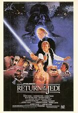 STAR WARS RETURN OF THE JEDI WIDEVISION U PICK SINGLE MINI-POSTER INSERT CARDS