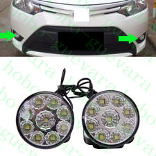 2X Car Diameter 7cm White LED Daylight Bulb DRL LAMP Daytime Running Fog Light