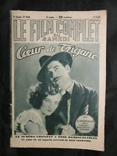 Vintage Foreign Movie Magazine Film Complet 4/1930 Joan Crawford Nils Asther