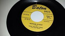 "NOBLE ""THIN MAN"" WATTS Hard Times / Midnite Flight BATON 249 45 7"""