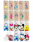 iPhone 6 / 7 Silicon Soft Transparent Thin Clear Cover Case Disney Watercolour