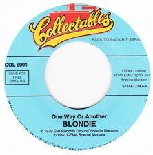 """Blondie - One Way Or Another / Dreaming - 7"""" US Vinyl 45 - New & Unplayed"""