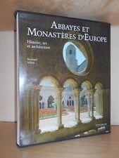 CITADELLES & MAZENOD  ABBAYES ET MONASTERES D'EUROPE / HISTOIRE ART ARCHITECTURE