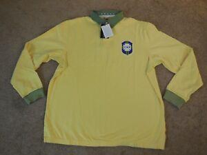 Men's Nike Sportswear x CBF Brasil Soccer Rugby Polo -# 452351 703- Sz 2XL -NEW